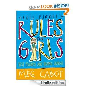 Allie Finkles Rules For Girls Best Friends and Drama Queens (Allie