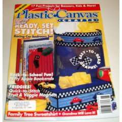 Plastic Canvas Crafts Magazine August 1994 (Vol. 2, No. 4