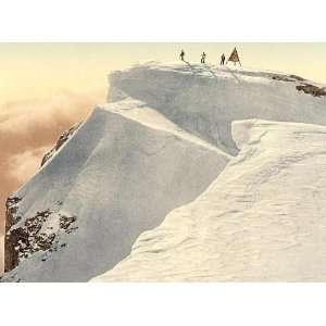 Travel Poster   The Titlis Spitze Unterwald Switzerland 24 X 18