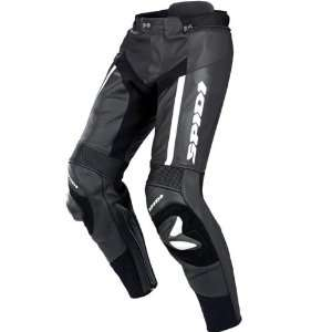 Spidi Mens Black RR Pro Leather Pants   Size : 34