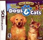 PAWS CLAWS BEST FRIENDS DOGS CATS GAME BOY ADVANCE