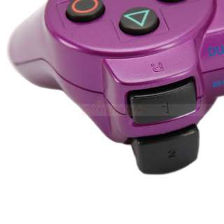 Wireless Bluetooth Controller for Sony Playstation 3 Deep Purple