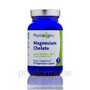 Physiologics Magnesium Chelate 200mg 90 Vegetarian Caplets