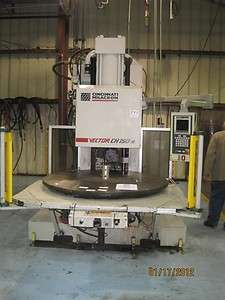 150 Ton Cincinnati Milacron CH150 R Vertical Injection Molding Machine