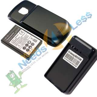 3500mAH extended battery Samsung Droid Charge i510 + Cover + Charger