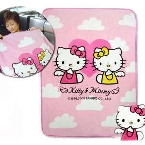 Sanrio Hello Kitty Blanket (Travel Blanket) Toys & Games