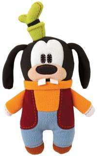 Disney GOOFY Pook a Looz Stuffed Plush Doll Retro Flat Fleece Dog