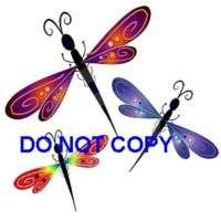Dragonflies Nail Decal set of 20