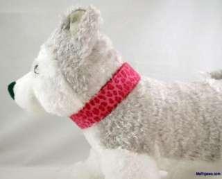 Hot Pink Leopard Print Dog Collar