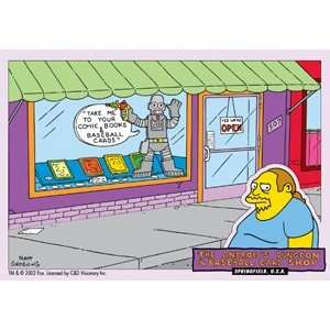 Simpsons Comic Book Sticker S SIM 0066 Toys & Games