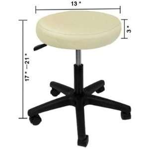 In Hydraulic Salon Stool Chair Saet Sit Beauty Tattoo Massage Beige