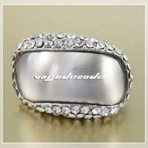 18K White Gold GP Shining Swarovski Crystals Ring 2D013
