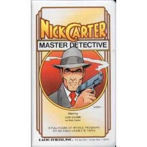 Nick Carter, Master Detective (9781878078124) Radio Spirits Books