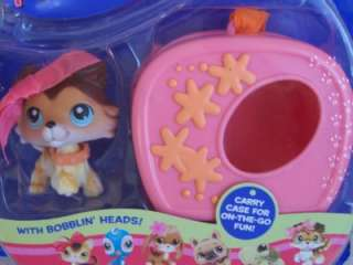 Littlest Pet Shop New Girl COLLIE w/CASE #58 RARE Retired *NIB* UHTF
