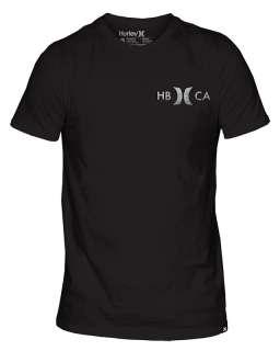 Mens Hurley Signer Tee Shirt Black Multiple Sizes NWT