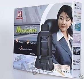 car seat cover mat heating rest hot 9 motor massager