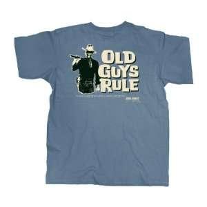 OG013JW M Old Guys Rule Got To Do John Wayne Lake Blue Tee   Medium