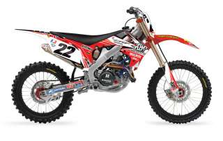 2012 FX Reed Two Two Motorsports Full Graphics Kit   HONDA CRF 250R