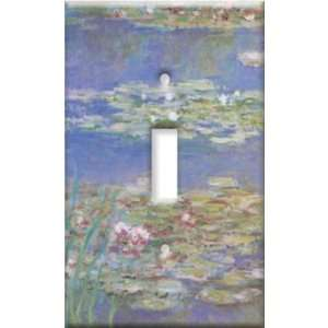 Switch Plate Cover Art Monet Water Lilies Fine Art S