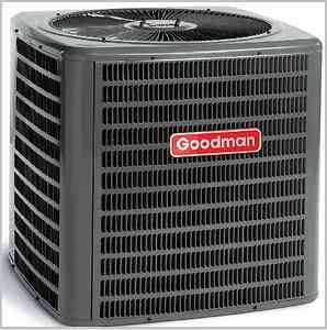 Ton 13 Seer Goodman Dry Ship R 22 Split System Heat Pump