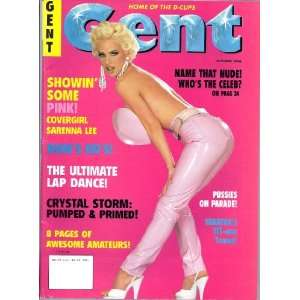 GENT 10/96 (OCTOBER 1996 SaRENNA LEE): GENT MAGAZINE: