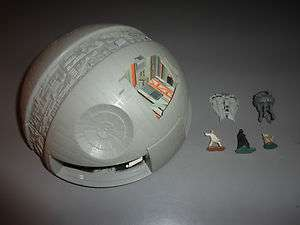 Death Star Star Wars Micro Machines Mini Playset Play Set Planet Darth