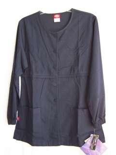 NWT Dickies ELEMENTS Nurse Scrub Warm Up Jacket 88014