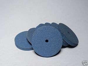 500 Blue Rubber Polishing wheels for Dremel Rotary Tool Dental Jewelry