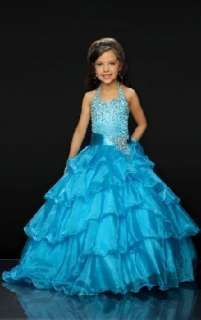 Cute Children Pageant Dress Flower Girl Wedding Dress