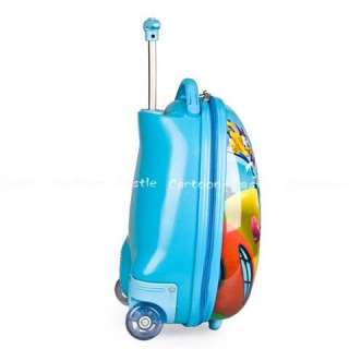 Mickey Mouse Luggage Bag Baggage Trolley Roller Blue 19