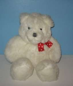 18 Dakin 1993 White Floppy Legs Teddy Bear Plush
