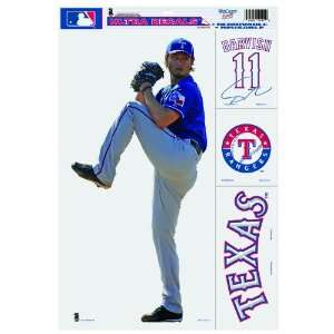 MLB Texas Rangers Darvish 11 by 17 Ultra Decal Multiple