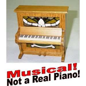 Musical   5 Inch Tall Upright Player Piano   Oh! Susanna