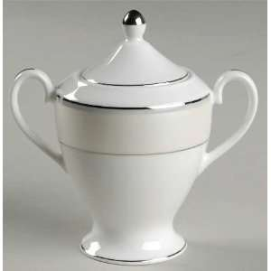 Nikko Natural Pearl Sugar Bowl & Lid, Fine China