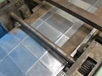 25.12.75 ROLL FORMING MACHINE + ROLLS *DUCT FABRICATION*