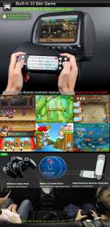 Pair 9 DIGITAL SCREEN Car Headrest DVD Player BLACK Eonon L0237