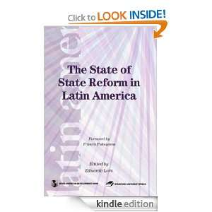 of State Reforms in Latin America (Latin American Development Forum