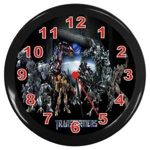 New Transformers Optimus Prime Wall Clock Room Decor