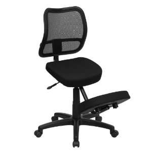 Flash Furniture WL 3425 GG Mobile Ergonomic Kneeling Task Chair