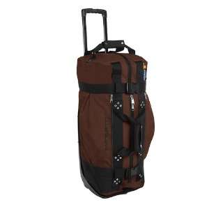 New Club Glove Rolling Duffle Travel Bag Mocha/Black