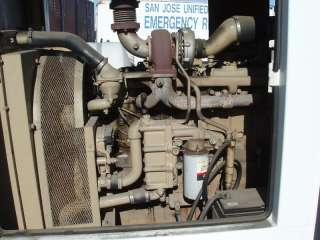 Mounted Standby Generator Diesel 3 Phase, 187 Amps Fiat Diesel Powered