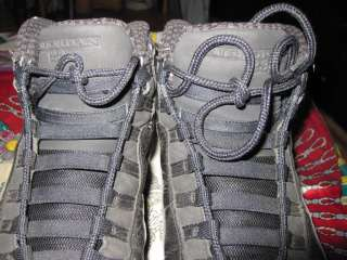 Nike Air Jordan Retro 10 X (2005) Black / White   Mens SZ 8.5