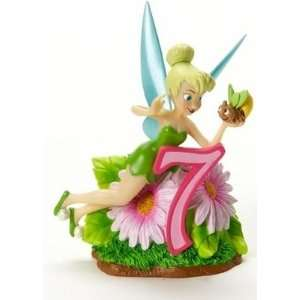 Disney Showcase Tinkerbell Birthday Age 7 Figurine