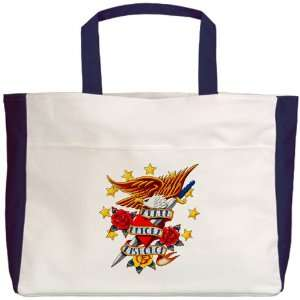 Beach Tote Navy Bald Eagle Death Before Dishonor: Everything Else