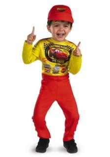 Boys Child DISNEY Pixar CARS Lightning Mcqueen Costume