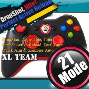 ACTIVE RELOAD DROP SHOT XBOX 360 RAPID FIRE MODDED CONTROLLER GEARS OF