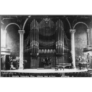 Organ Stage,Warner Concert Hall,Oberlin,OH,Lorain Co.
