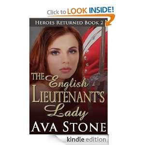The English Lieutenants Lady (Heroes Returned Book 2) Ava Stone