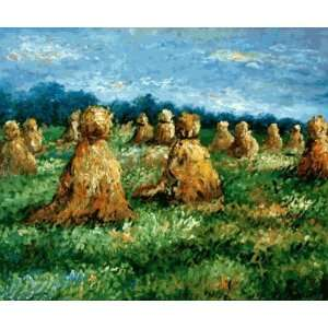 Claude Monet The Haysheaves  Art Reproduction Oil