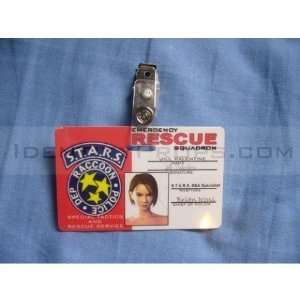 RPD ID Cards Raccoon Police Department Resident Evil